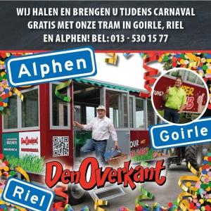 Carnaval bij den overkant in Riel, Goirle en Alphen